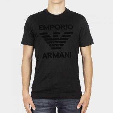 EMPORIO ARMANI - Camiseta negra