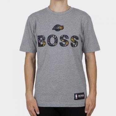 BOSS x NBA - Camiseta gris