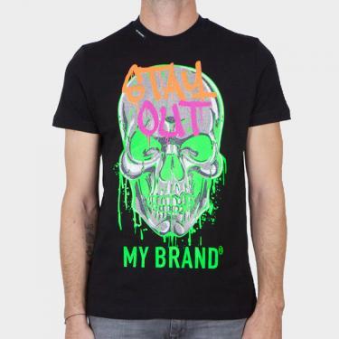 MY BRAND - Camiseta negra