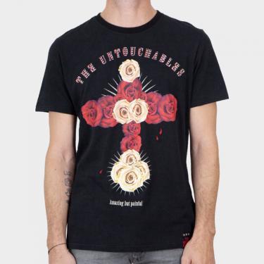 THE UNTOUCHABLES - Camiseta negra