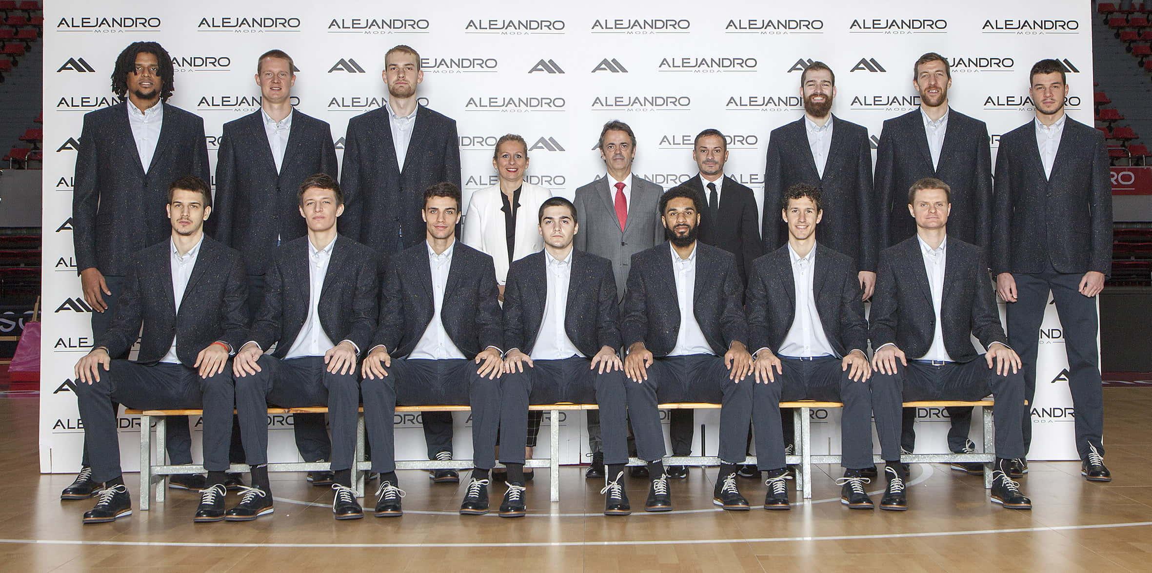 Presentación Casademont Basket Zaragoza Alejandro Moda