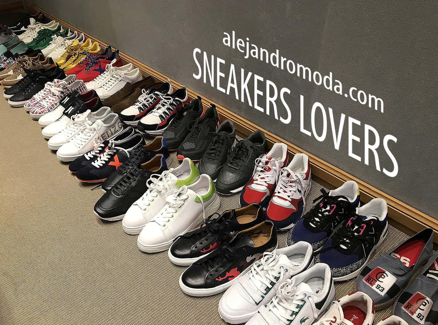 sneakers lovers